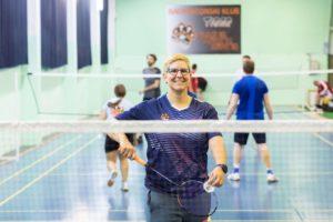 Badminton klub BK Tigar trener Andrea Žvorc