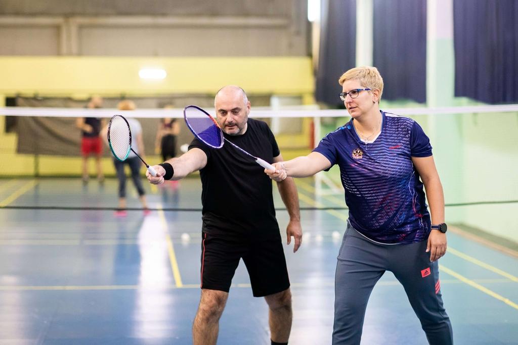 Badminton klub BK Tigar individualni trening